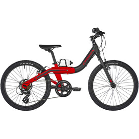 ORBEA Grow 2 7V Børn, black/red